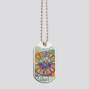 wheel of fortune Dog Tags
