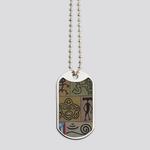 Taino Petroglyphs Dog Tags