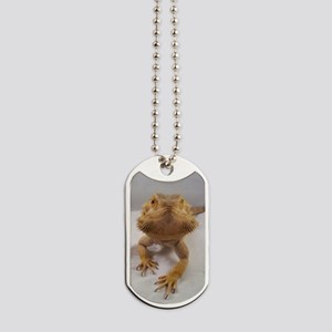 Rebney on white Dog Tags