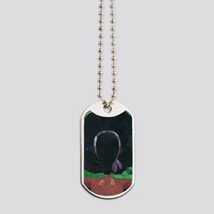 Girl with the Big Afro Dog Tags