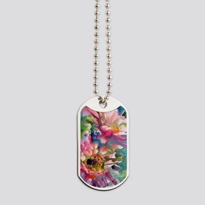 Cactus Flowers Watercolor Dog Tags