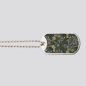 William Morris Seaweed Dog Tags