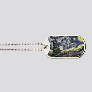 Starry Night/ Peace on Earth Dog Tags