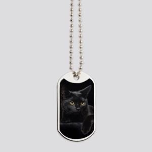 Black Cat Dog Tags