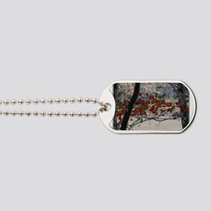 Autumn leaves in oil Dog Tags