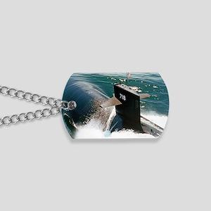 honolulu rectangle magnet Dog Tags