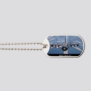Military Poster: An AC-130H Gunship aircr Dog Tags