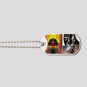 Strong African Women Dog Tags