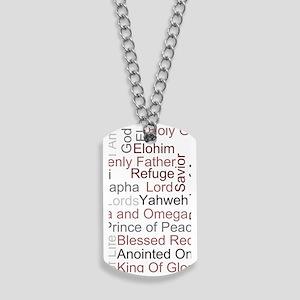 Names Of God Dog Tags