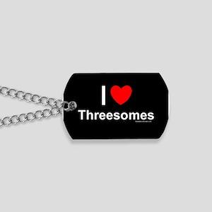 Threesomes Dog Tags