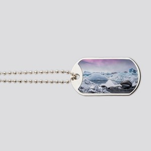 Glaciers of Iceland Dog Tags