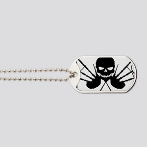 Skull and Pipes Dog Tags