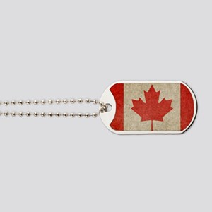 Canada Faded Shoulder Dog Tags