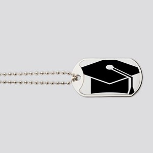 doctoral cap Dog Tags
