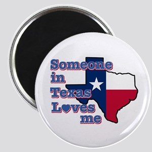 """Someone in Texas loves me 2.25"""" Magnet (10 pack)"""