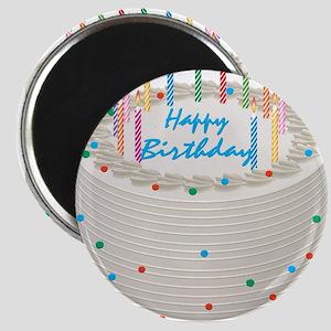 Happy Birthday Cake Magnets