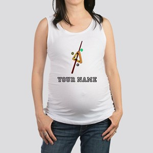 Billiards Equipment (Custom) Maternity Tank Top