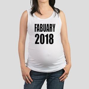 February 2018 Birthday Designs Maternity Tank Top