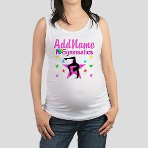 GYMNAST GIRL Maternity Tank Top