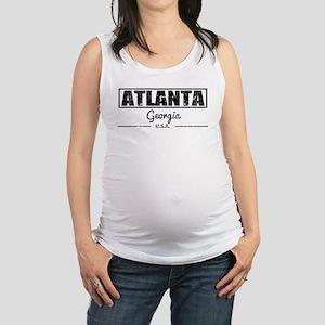 Atlanta Georgia Maternity Tank Top