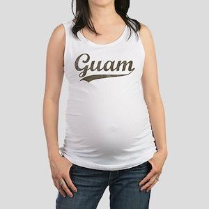 Vintage Guam Maternity Tank Top