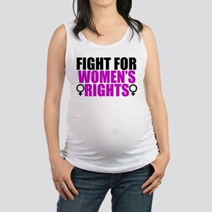 Women's Rights Maternity Tank Top