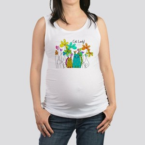 Spring Flowers 13 Maternity Tank Top