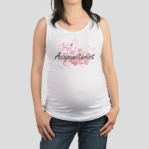 Acupuncturist Artistic Job Desi Maternity Tank Top
