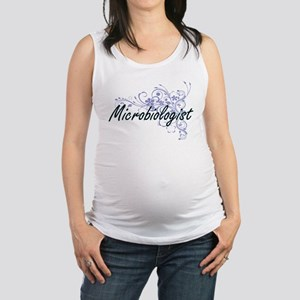 Microbiologist Artistic Job Des Maternity Tank Top