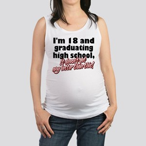 18 AND GRAD Maternity Tank Top