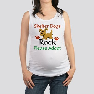 Shelter Dogs Rock Please Adopt Tank Top