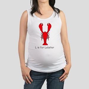lobster10 Maternity Tank Top