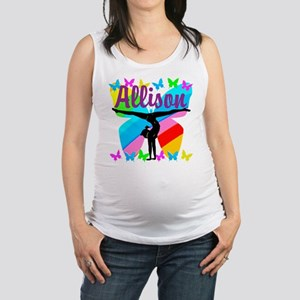 PERSONALIZE GYMNAST Maternity Tank Top