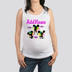 CHEERING GIRL Maternity Tank Top