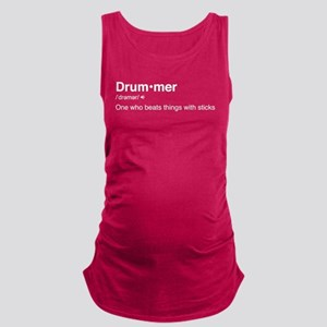 Drummer Definition Maternity Tank Top