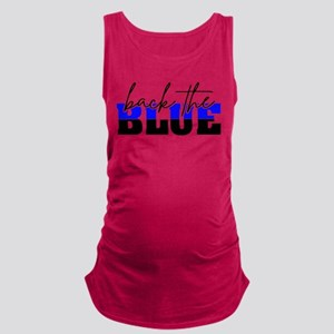 Back the Blue Thin Blue Line Police Cops Tank Top