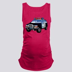 police car Maternity Tank Top