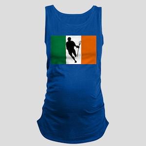 Lacrosse Flag IRock Ireland Maternity Tank Top