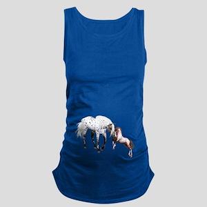 Horses Love Forever Maternity Tank Top