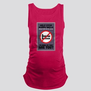Stop Puppy Mills Maternity Tank Top
