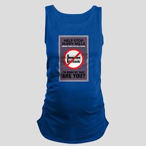 Stop Puppy Mills Maternity Tank Top