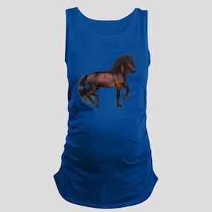 brown Horse 2 Maternity Tank Top