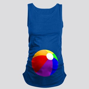 Beach Ball Belly Maternity Tank Top
