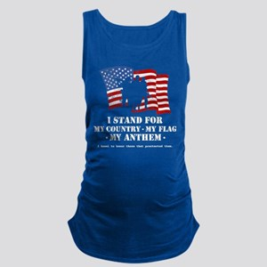 Stand For the Anthem 2 Maternity Tank Top