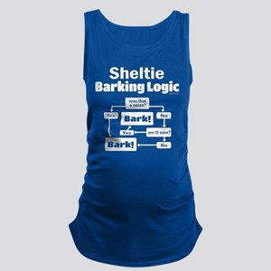 Sheltie Logic Maternity Tank Top