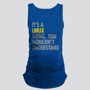 Its A Linux Thing Maternity Tank Top