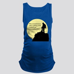 Mountains Calling Maternity Tank Top