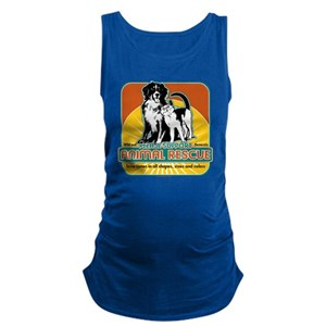 Animal Rescue Dog and Cat Maternity Tank Top