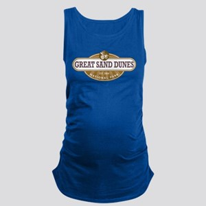 Great Sand Dunes National Park Maternity Tank Top