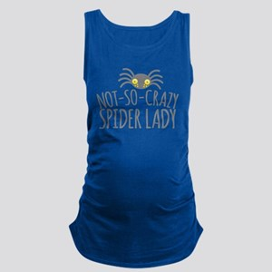 Not-So-Crazy Spider lady Maternity Tank Top